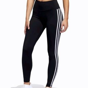 Adidas 3-Stripes Long Tights - Women's XS